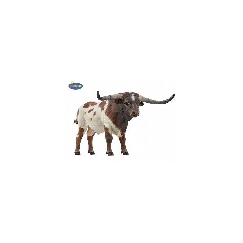 Figurina Papo,taur Longhorn