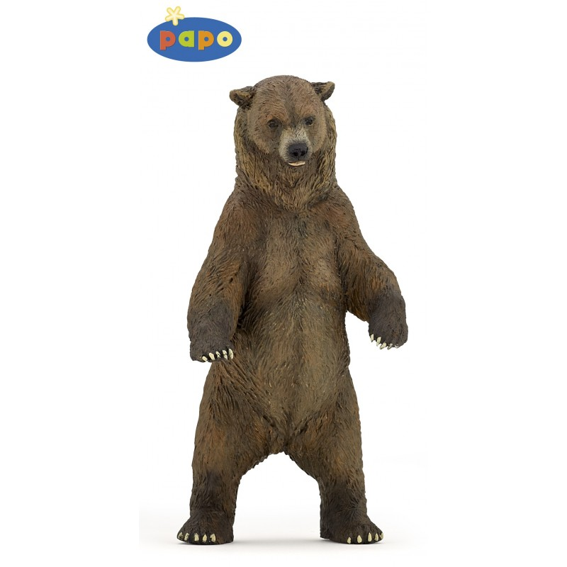 Figurina Papo,urs grizzly