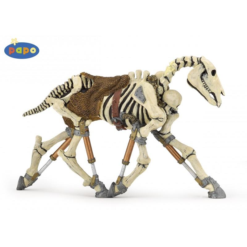 Figurina Papo,cal schelet