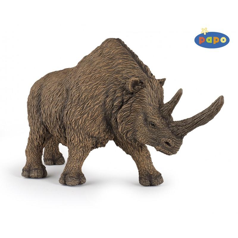 Figurina Papo,rinocer cu blana