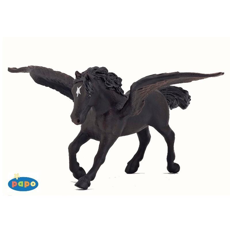 Figurina Papo,pegasus negru