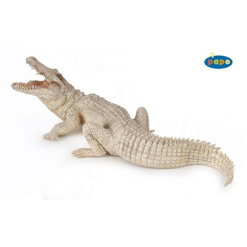 Figurina Papo,crocodil alb