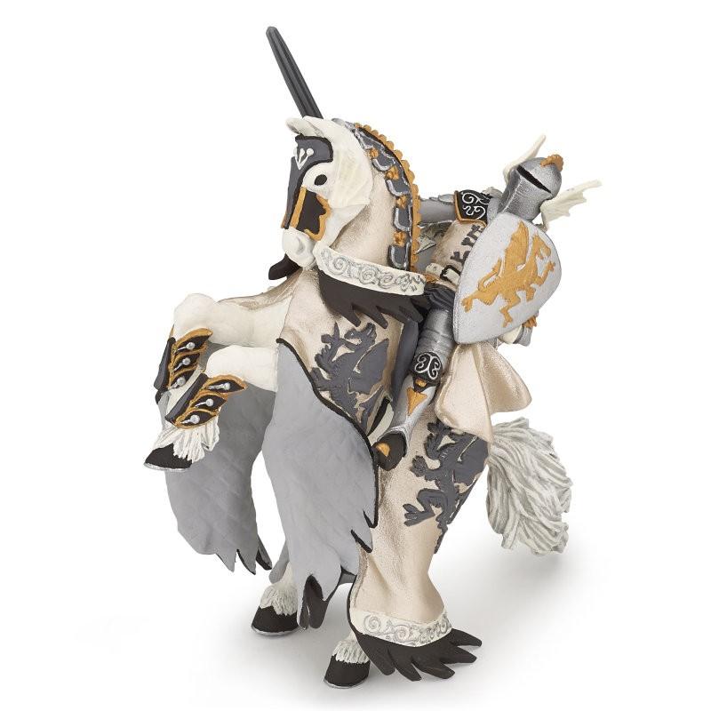 Figurina Papo,printul dragonului si cal