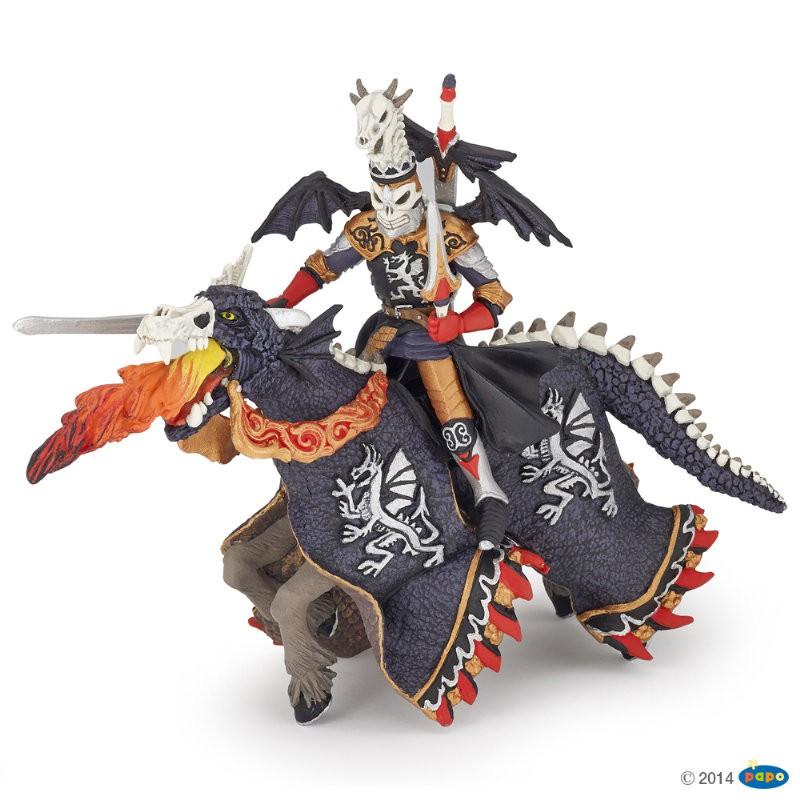 Figurina Papo,razboinic dragon si cal