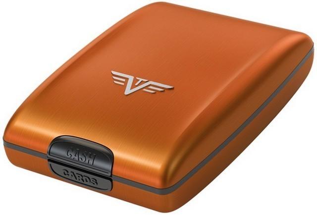 Portmoneu din aluminiu portocaliu,Tru Virtu Osyster