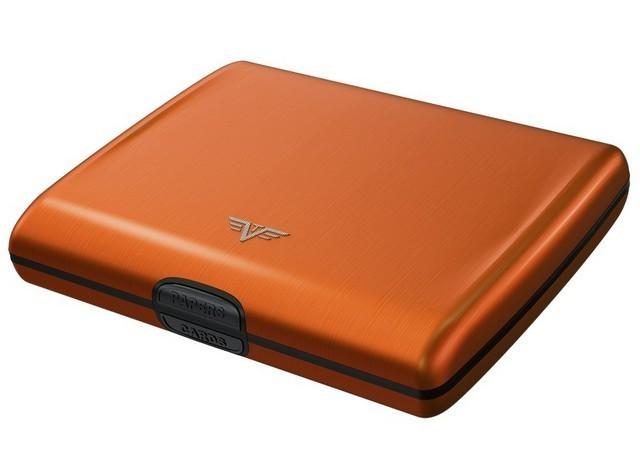 Portofel din aluminiu portocaliu,Tru Virtu Ray