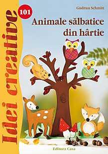 ANIMALE SALBATICE DIN HARTIE IDEI CREATIVE 101