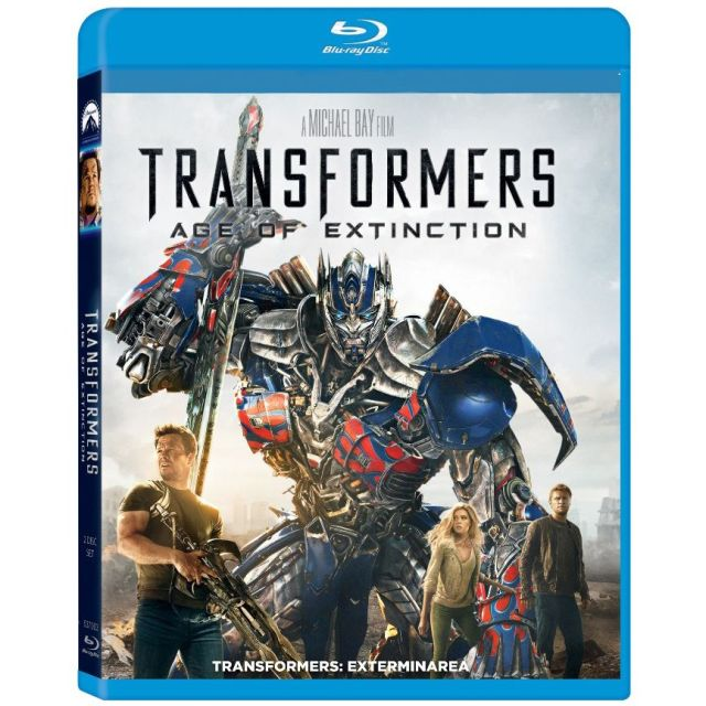 BD: TRANSFORMERS: AGE OF EXTINCTION - TRANSFORMERS: EXTERMINAREA