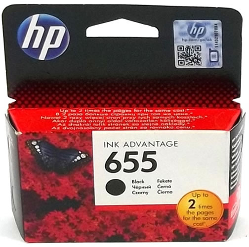 Cartus HP Cartus Negru Nr.655 Cz109Ae 14Ml Original Deskjet 3525 E-Aio