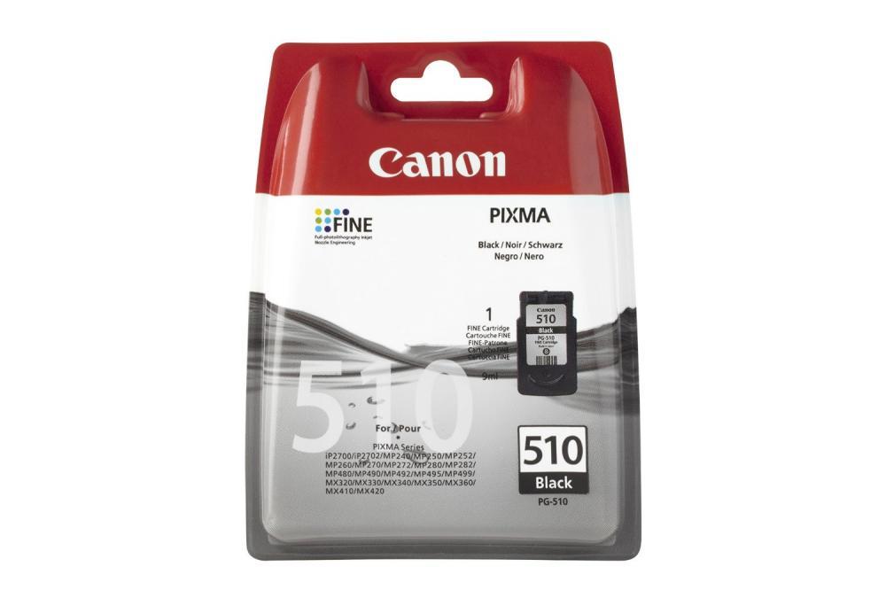 Cartus Canon PG-510, Negru ink