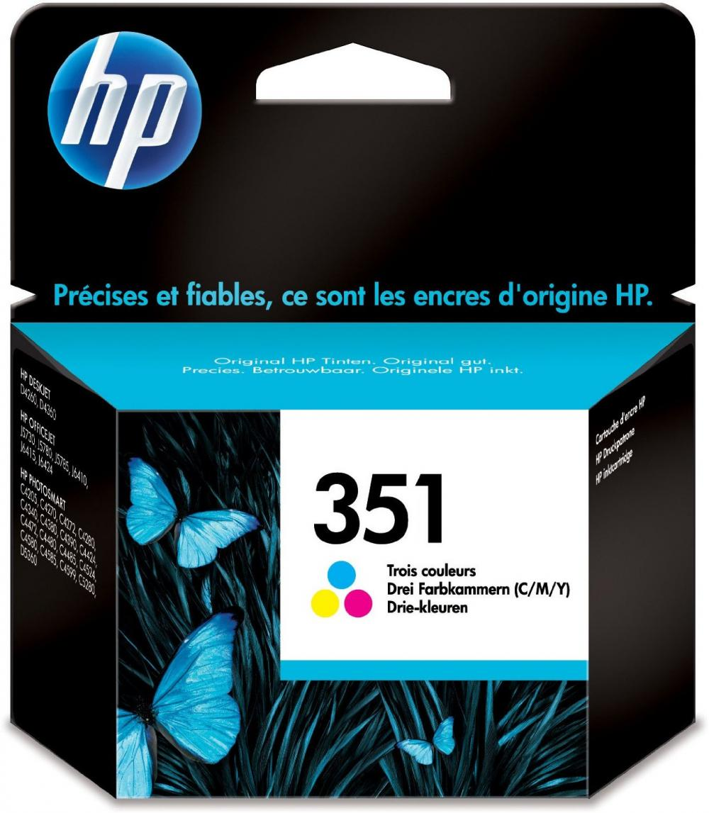 Cartus HP COLOR VIVERA NR.351 CB337EE 3,5ML ORIGINAL OFFICEJET J5780