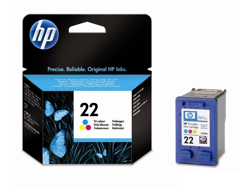 Cartus HP COLOR NR.22 5ML C9352AE ORIGINAL DESKJET 3940
