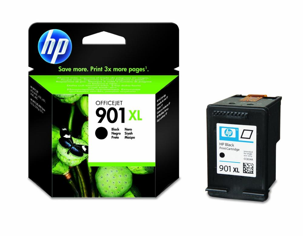 Cartus HP Negru  NR.901XL CC654AE ORIGINAL OFFICEJET J4580