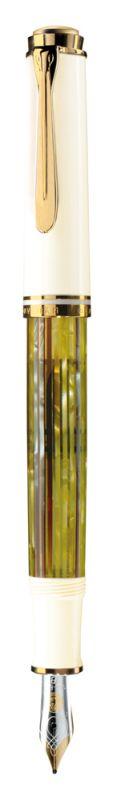 Stilou Souveraen M400,penitaF14K,alb-verde