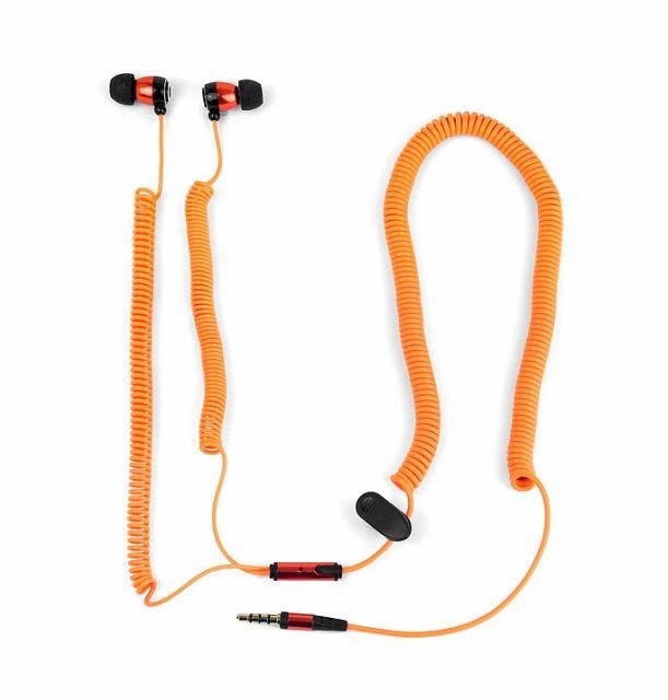 Casti pt telefon orange