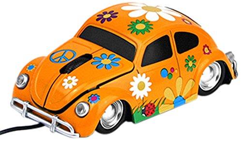 Mouse forma masina,orange