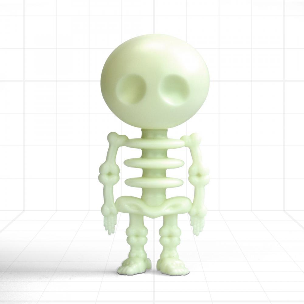 Pix, forma schelet,fosforescent