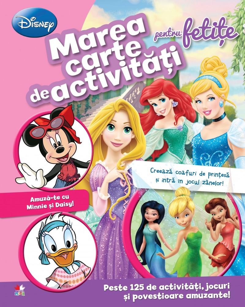 DISNEY. MAREA CARTE DE ACTIVITATI PENTRU FETITE