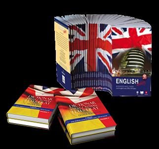 PACHET ENGLISH TODAY (26 VOL) SI DICTIONAR ENGLEZ-ROMAN ILUSTRAT (2 VOL)