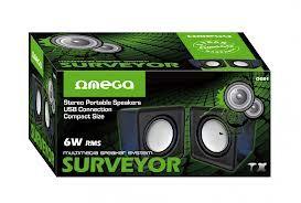 CASTI OMEGA 2.0 OG-01 SURVEYOR negru 6W USB