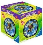Puzzle 3D testoasele ninja,54 pcs