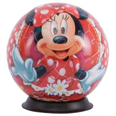 Puzzle 3D minnie mouse,72 pcs