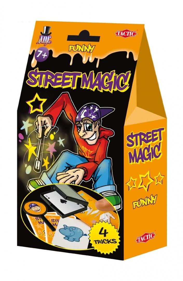 Tactic,Street magic-truc magician,orange