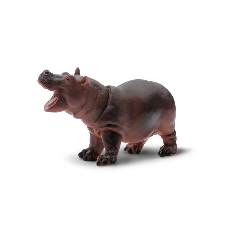 Figurina Safari,pui de hipopotam