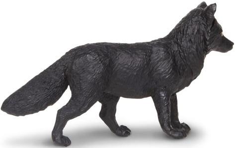 Figurina Safari,vulpe neagra