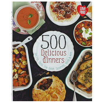 500 DELICIOUS DINNERS