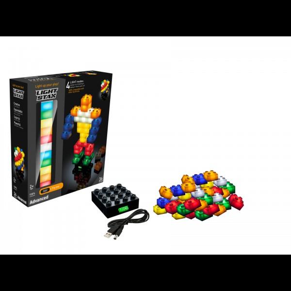 Light Stax,Advanced,36 cuburi,placa baza