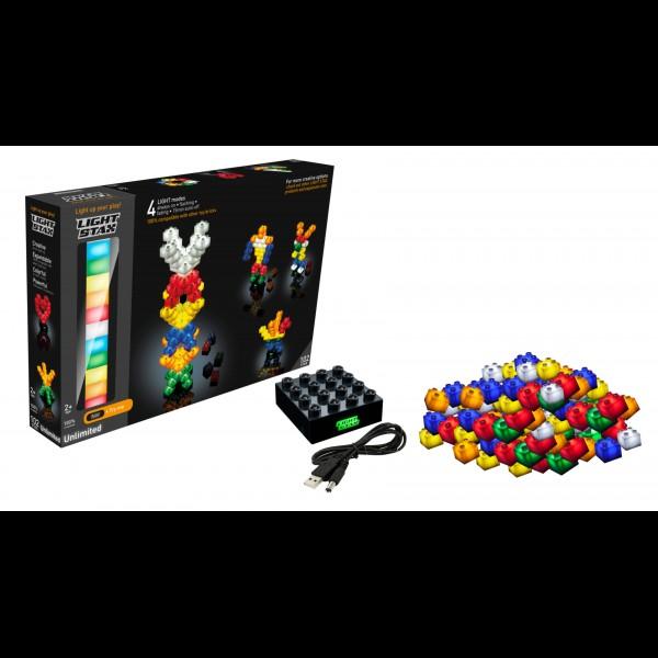 Light Stax,Unlimited,102 cuburi,placa baza