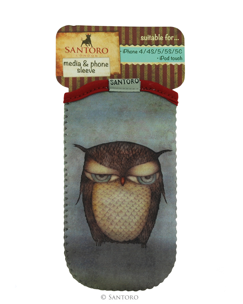 Husa iPhone/iPod Grumpy Owl