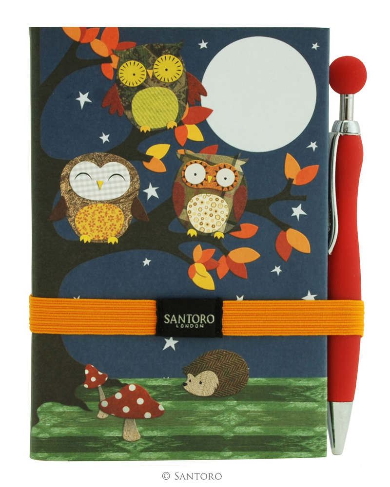 Jurnal A6,96f,pix&semn carte,Night Owls