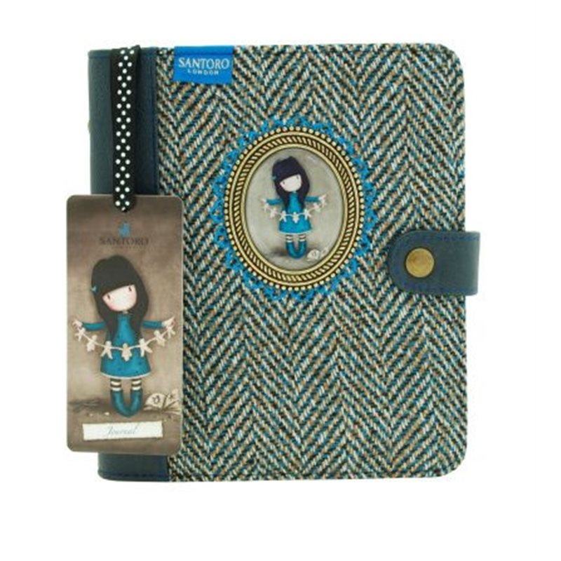 Jurnal 17x19x4cm,300p,cu medalion,Family in a Book