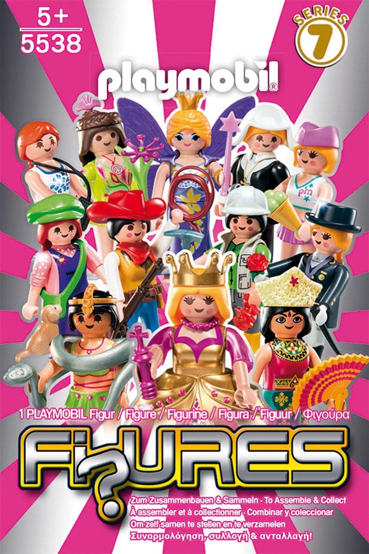 Playmobil-Figurine fete,seria 7