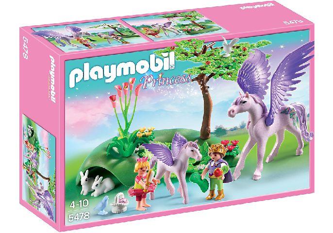 Playmobil-Copii si unicorni