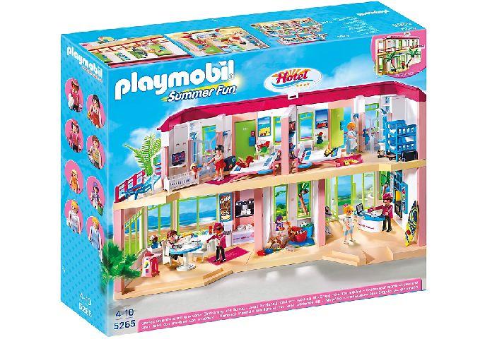 Playmobil-Hotel mare mobilat