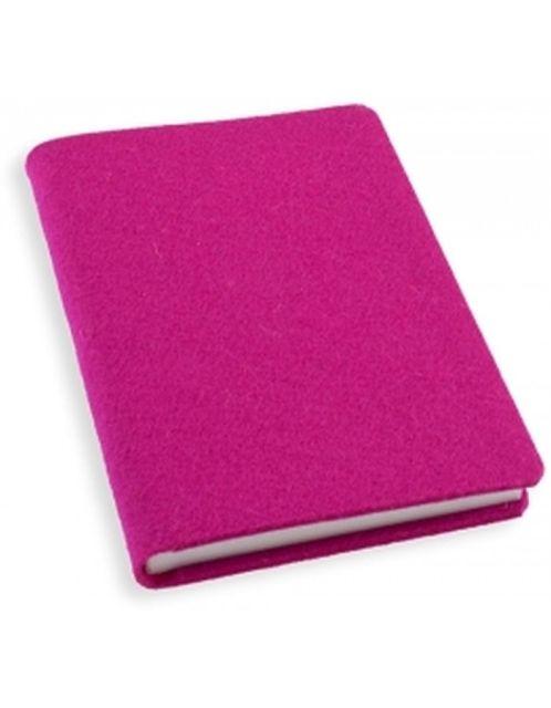 Agenda A6,100f,coperta pasla,filZit,roz