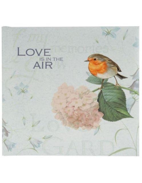 Agenda 16.5x16.5cm,48f,velin,Love is in the air