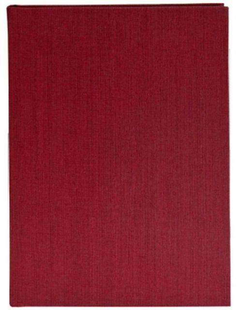 Caiet schite,A5,58p,160g,ivoar,rosu
