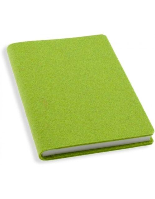 Agenda A5,100f,coperta pasla,filZit,verde
