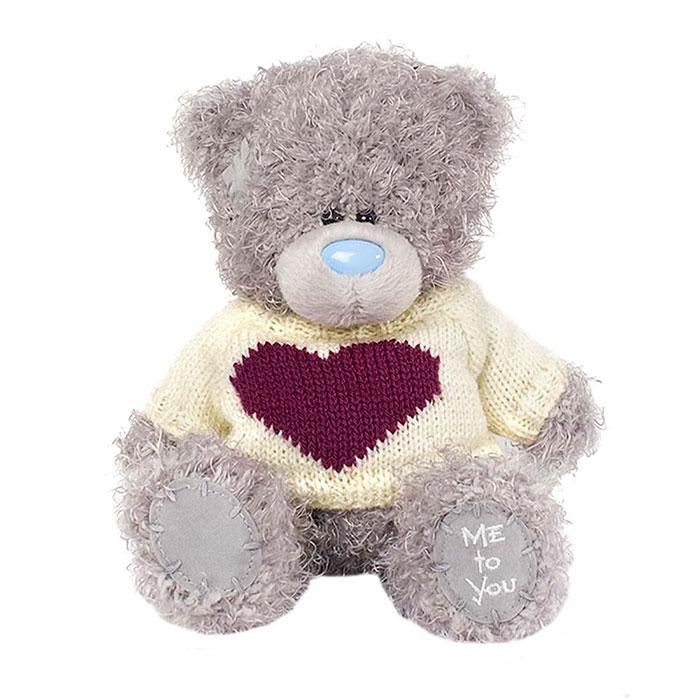Plus MTY 7in, urs cu bluza si inimioara