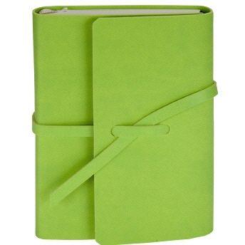 Agenda A5,100f,coperta piele eco,Winner,verde