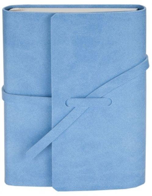 Agenda A5,100f,coperta piele eco,Winner,albastru