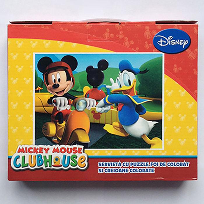 Puzzle 100pcs,coloriaj,servieta,Mickey