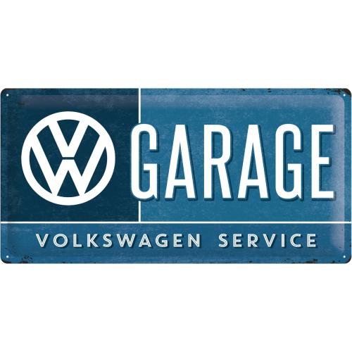 Placa 25x50 VW Garage