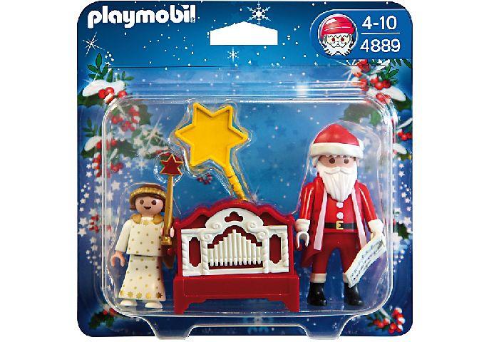 Playmobil-Mos Craciun si ingeras