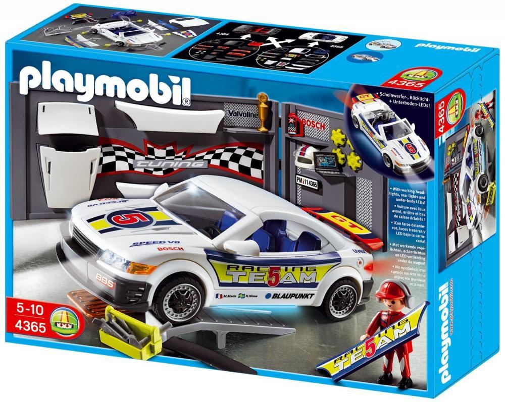 Playmobil-Service si masina cu lumini