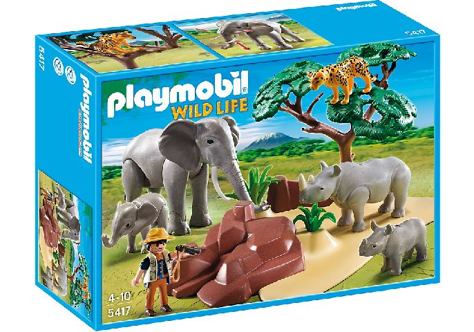 Playmobil-Savana africana si animale
